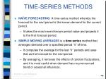 time series methods23