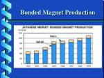 bonded magnet production
