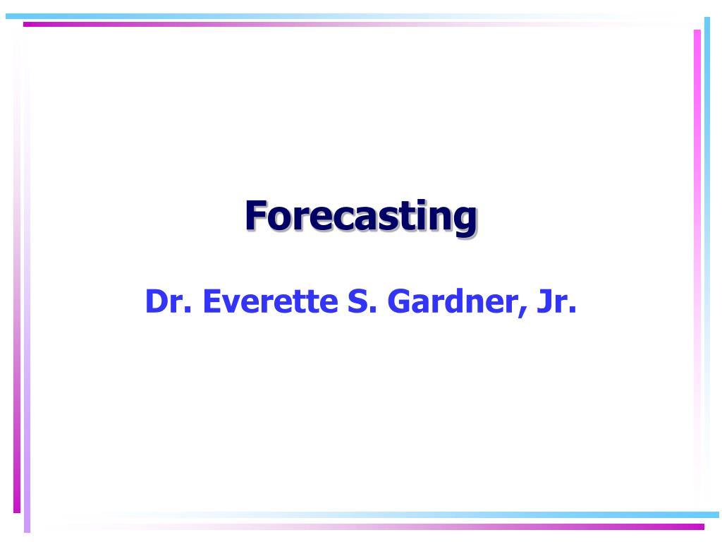 forecasting l.
