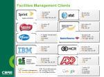 facilities management clients