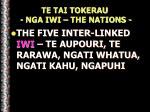 te tai tokerau nga iwi the nations