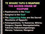 te whare tapu o ngapuhi the sacred house of ngapuhi