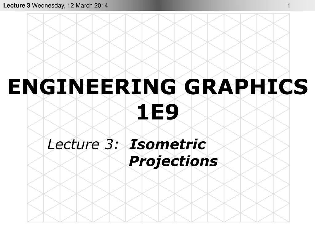 engineering graphics 1e9 l.