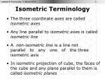 isometric terminology