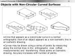 objects with non circular curved surfaces29