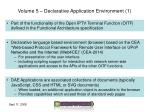 volume 5 declarative application environment 1