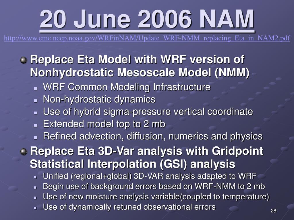 20 June 2006 NAM