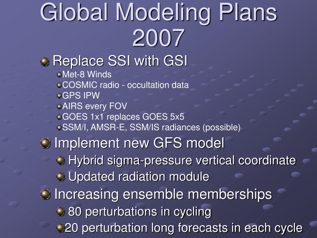 Replace SSI with GSI