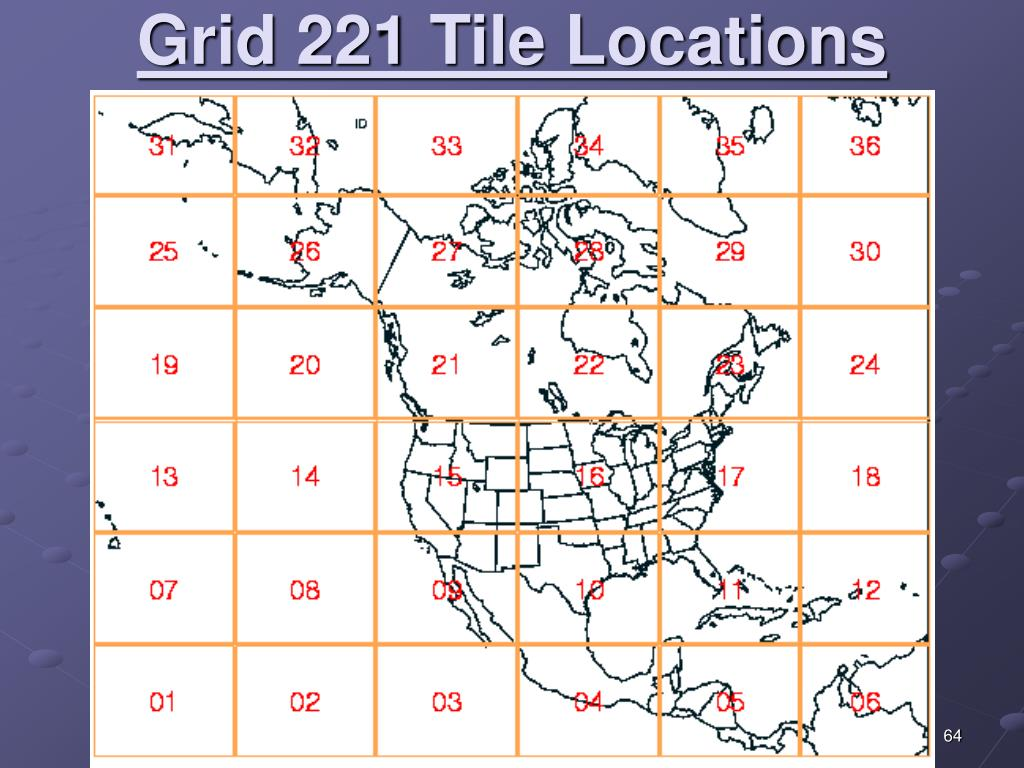 Grid 221 Tile Locations