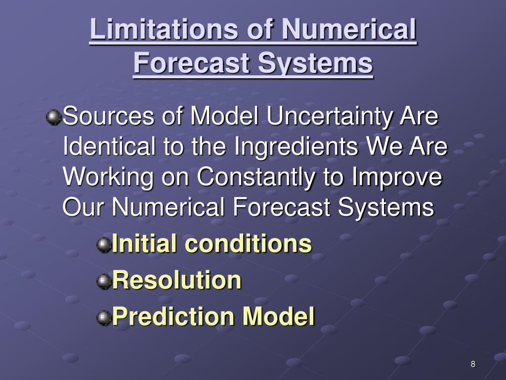 Limitations of Numerical