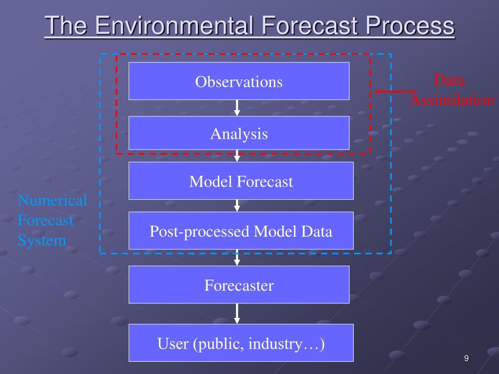 The Environmental Forecast Process