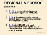 regional ecosoc