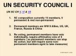 un security council i
