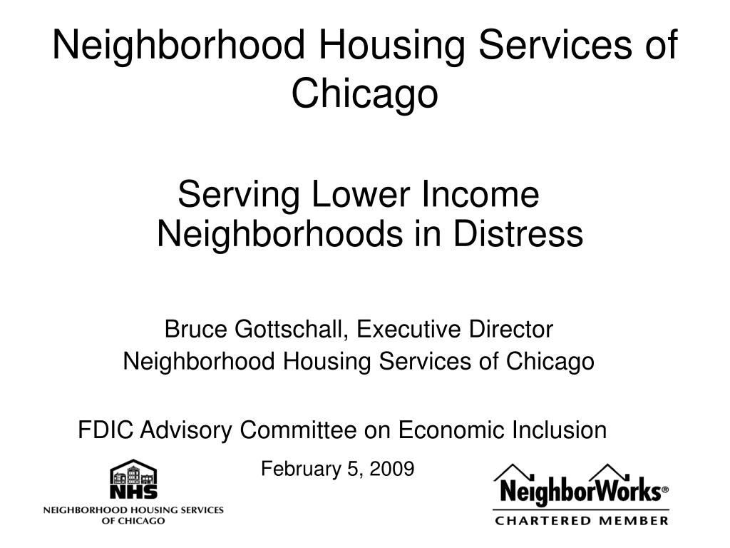 neighborhood housing services of chicago l.