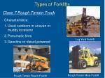 class 7 rough terrain truck