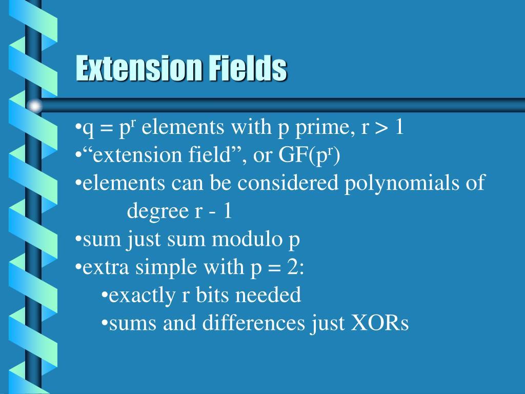 Extension Fields