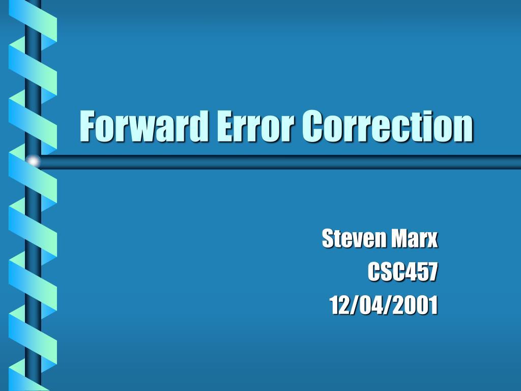 forward error correction l.