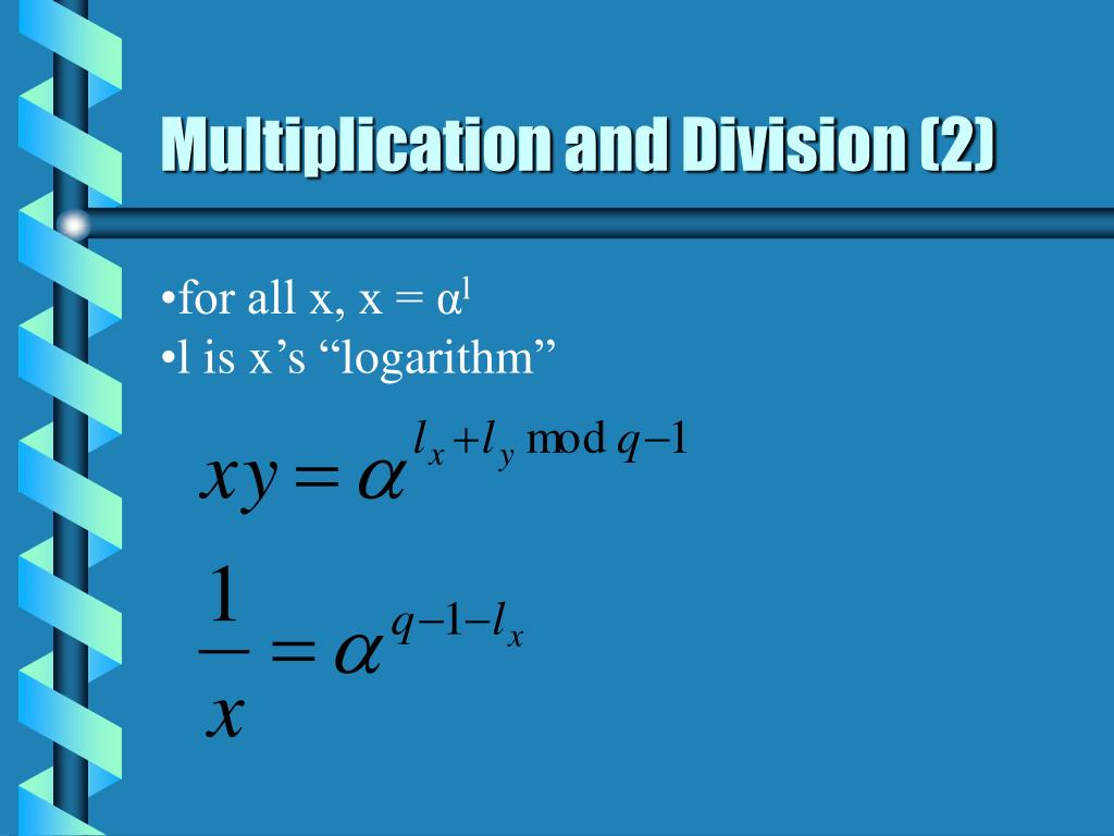 Multiplication and Division (2)