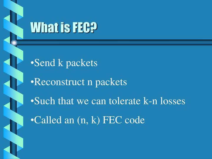 What is fec