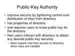 public key authority