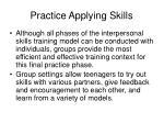 practice applying skills60