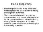 racial disparities33