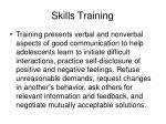 skills training57