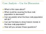 case analysis use for discussion