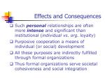 effects and consequences13