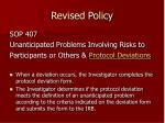 revised policy7