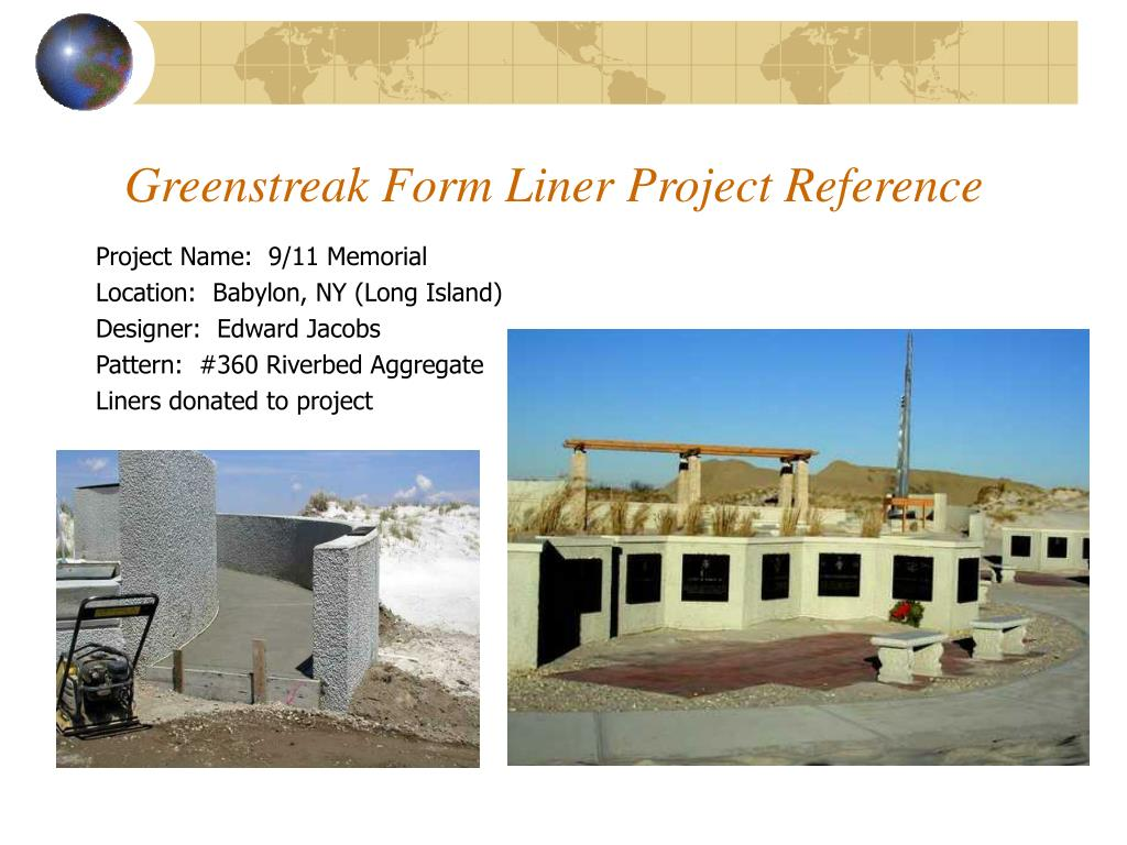 greenstreak form liner project reference l.