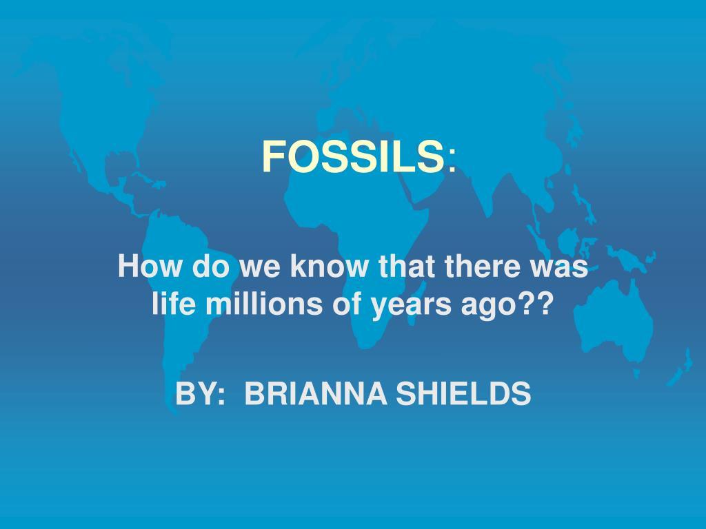 fossils l.