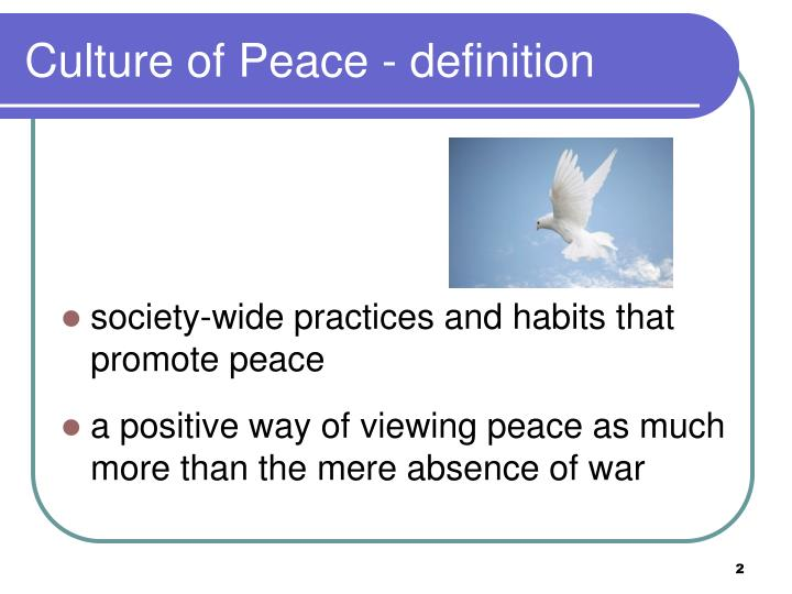 definition of peace education Video: what is conflict management - definition, styles & strategies wherever there are people  paul has been in higher education for 17 years.
