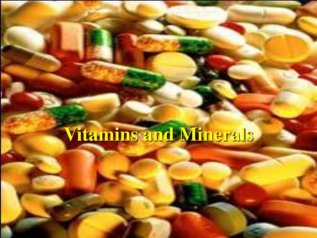 vitamins and minerals l.