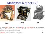 machines taper 2