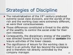 strategies of discipline
