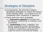 strategies of discipline44