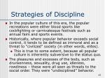 strategies of discipline45
