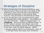 strategies of discipline46