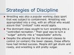 strategies of discipline47