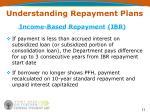 understanding repayment plans11