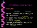 conditions non actions12