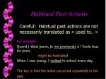 habitual past actions7