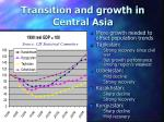 transition and growth in central asia