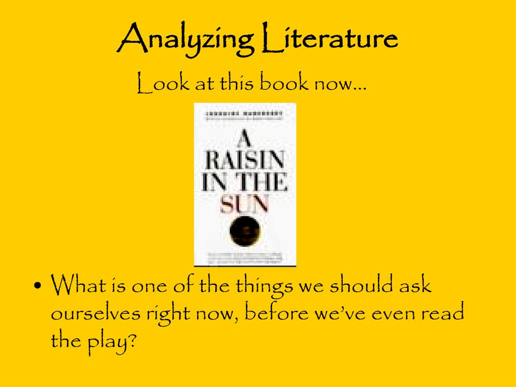 "a literary analysis of the younger family in a raisin in the sun by lorraine hansberry Art essay / literary arts essays / the symbolism of the plant in ""a raisin sun written by lorraine hansberry scene of the younger family but when."