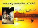 how many people live in india11
