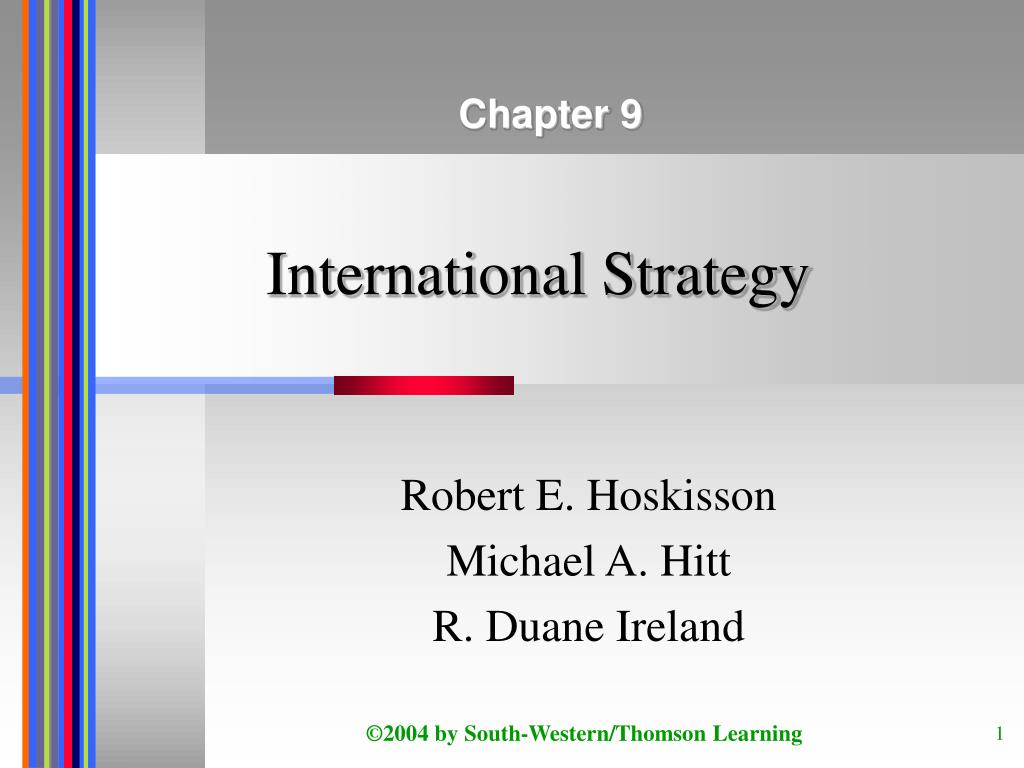 international strategy l.