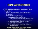 ssm advantages4