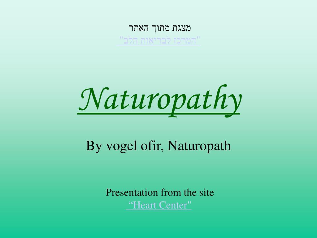 naturopathy l.