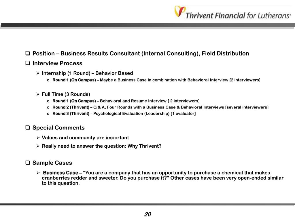 Position – Business Results Consultant (Internal Consulting), Field Distribution